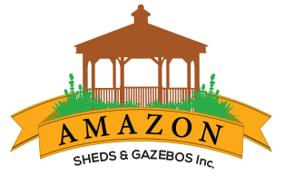 Amazon Sheds & Gazeebos – Custom built Sheds delivered and installed at your home!